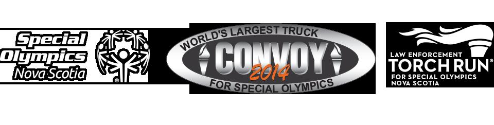Special Olympics Nova Scotia Truck Convoy