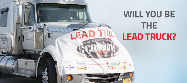 Are you the Lead Truck?