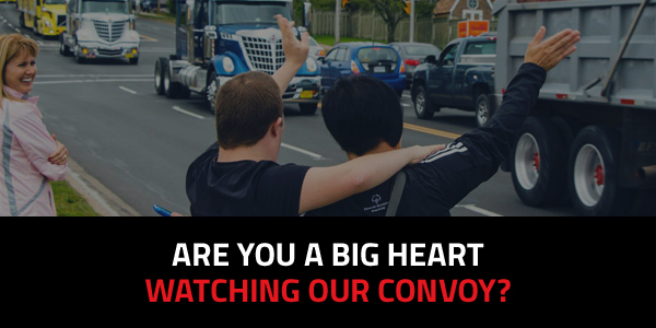 Watch the 2015 Truck Convoy